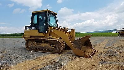 1996 Caterpillar 953C Track Loader Diesel Engine Hydraulic Machinery Cabbed Cat