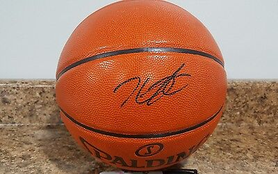 KEVIN DURANT signed autographed basketball golden state warriors   COA