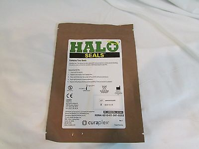 Halo Chest Seals 2 Per Package EXP: 2019 Occlusive Dressing