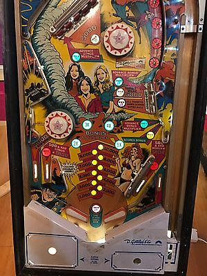 Charlie's Angels Table Pinball EM Flipper