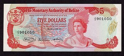 Belize, 5 Dollars 1980, P-39a * Queen Elizabeth * UNC