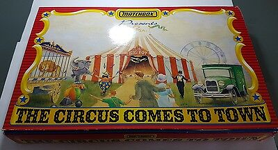 Matchbox The circus comes to town playset 1994