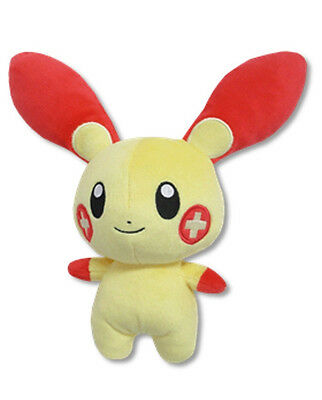 "Sanei All Star Collection Pokemon Sun & Moon 6.5"" Stuffed Plush Doll PP69 Plusle"