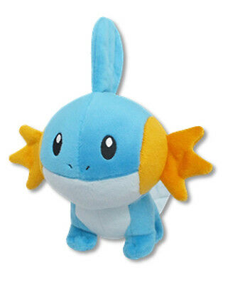 "Sanei All Star Collection Pokemon Sun & Moon 6"" Stuffed Plush Doll PP68 Mudkip"