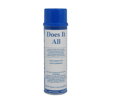 Lubricant - Does It All By Chemco - 6 Cans/Case
