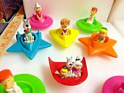Jetsons Hanna Barbera 1989 1990 Wendy's Applause Toys Lot of 8 Astro Elroy Jane