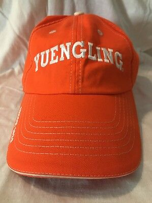 Pre-Owned Yuengling Beer Since 1829 Brewery Baseball Cap Orange & White