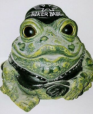 Toad Hollow Biker Frog