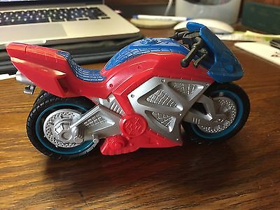 Spiderman on a motorcycle by Hasbro 2007 (Motorcycle only)