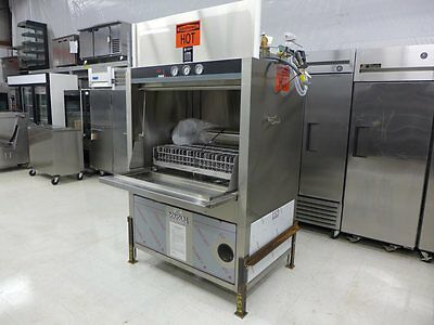 NEW Douglas SD-20EL Electric 20 Pan Rack 7.5 HP Dishwasher Booster Wash Rinse