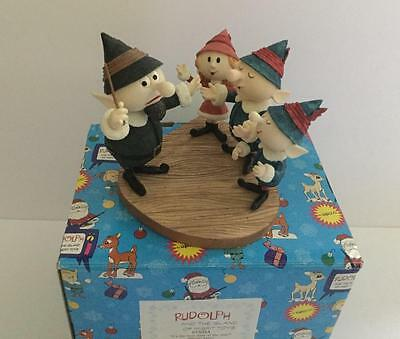 Enesco Rudolph Island of Misfit Toys Elves Figurine Best Time of the Year 875384