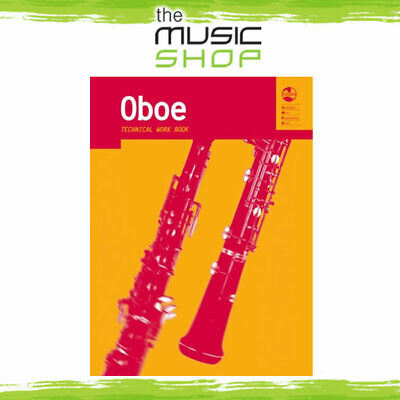AMEB Oboe Technical Work Book - Oboe Music Book