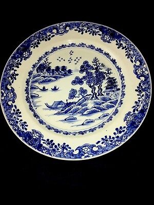 Chinese Export Blue And White Porcelain 18th Century