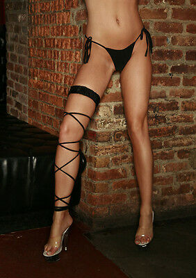 Electric Lingerie's Twisted Leg Garter - One Size(Multi Colors)