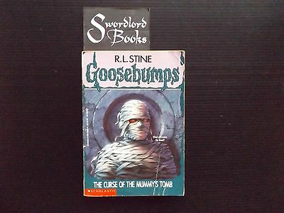 GOOSEBUMPS #5 : The Curse of the Mummy's Tomb By R. L. Stine (1993)