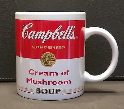 Campbell's 2002 Cream of Mushroom Soup Mug Coffee Cup Collectibles!