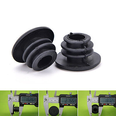 1 Pair Cycle Road MTB Bike Handlebar End Lock-On Plugs Bar Grips Caps Covers