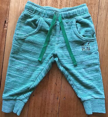 Four Pairs Boys Size 6-12 Months Long Pants & Jeans; Munster, Patch & Seed. VGC