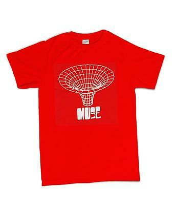 Muse Drawn In Brand New Officially Licensed Adult Unisex T-Shirt
