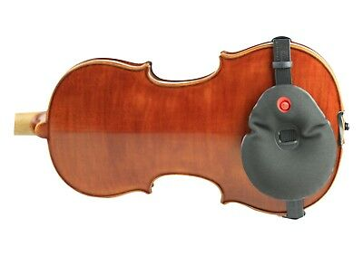 New black Playonair violin viola shoulder rest Junior model #1614 fits all sizes