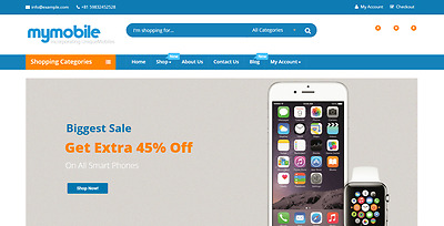 Profitable PHONES Affiliate-Dropship  READY Turnkey BUSINESS Website For Sale