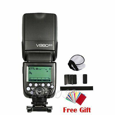Godox V860II-O TTL HSS  Li-ion Battery Camera Flash F Olympus Panasonic M10 GH4