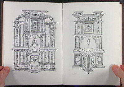 Early Antique English and European Furniture Designs of the 16th & 17th Century