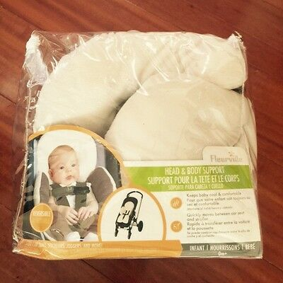 Fleurville Baby Head Body Support Car seat Strollers Joggers Premie New Born