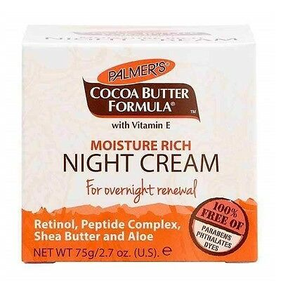 Palmer's Cocoa Butter Formula With Vitamin E Night Renewal Cream 75g - 2.7 Oz