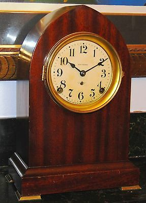 Antique Seth Thomas Gothic Beehive Cathedral Gong 8-Day Key-Wind Mantel Clock