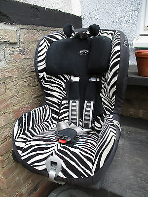 britax r mer king plus zebra smart kindersitz 9 18 kg. Black Bedroom Furniture Sets. Home Design Ideas