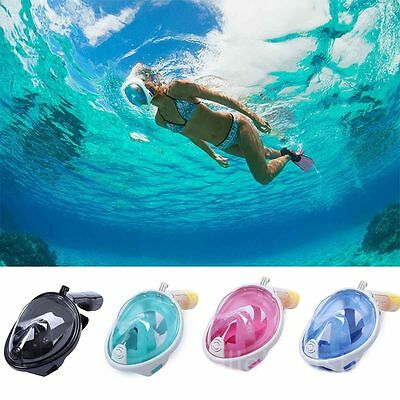 Full Face Snorkeling Diving Gear Tight Seal Camere gopro Anti Fog Snorkel Mask