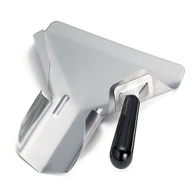 TableCraft FFR8 Right Handle Fry Scoop Stainless Steel French Fry Scoop