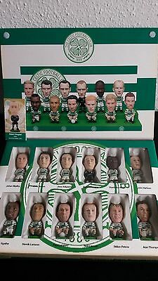Corinthian Pro Stars, Celtic Fc Fans Favourite Team Pack, 2002/03 Box With Stand