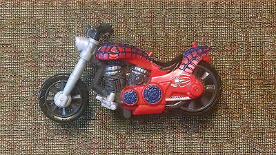 Spider-Man Harley-Style Motorcycle - Marvel/Hasbro 2006