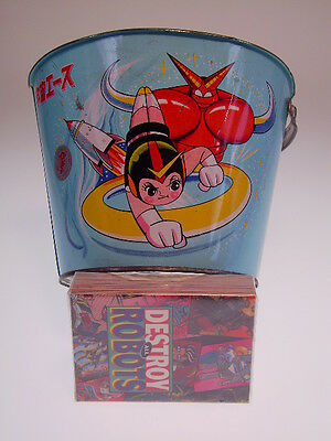"GS JAPAN HEROES ""ASTRO BOY SAND PAIL"" TATSUNOKO JAPAN, cm, SEHR GUT/VERY GOOD !"