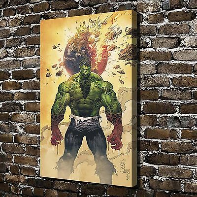 World War Hulk Paintings HD Print on Canvas Home Decor Wall Art Pictures posters