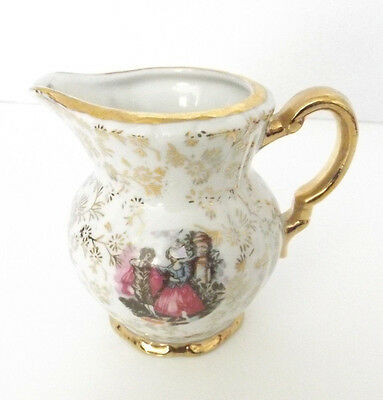 """Royal Crown Of Japan Fine China  Pitcher Or Creamer 3.5 Wide X 3.3/4"""" Tall"""
