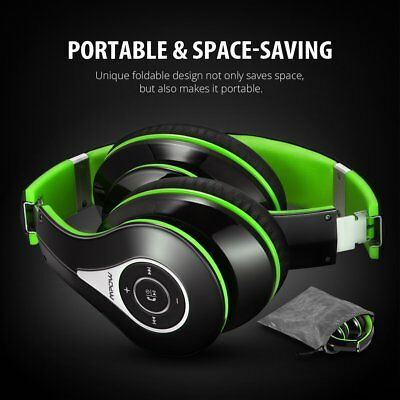 Mpow Foldable Wireless Bluetooth Headphones Over-Ear Stereo Headset for PC/Cell