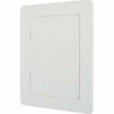 Wallo 7-Inch Plastic Access Door, Reinforced Hinged Access Panel For Drywall And
