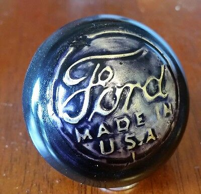 Vintage Ford Made in the USA rat hot rod shift knob Pick up truck model t a .