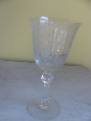 Tiffin June Night Water Goblet