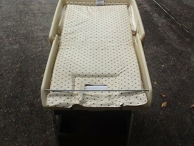 Wicker Baby Changing Table W/Drawers Nursery
