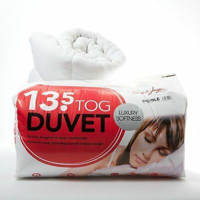 Quilts 4.5, 10.5, 13.5 and 15 Togs All Sizes All Seasons 100% Microfibre Duvets