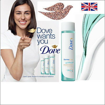 Dove Derma Spa Uplifted + Satin Smooth Body Oil 150Ml New