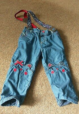 baby girls trousers 12-18 months- excellent condition