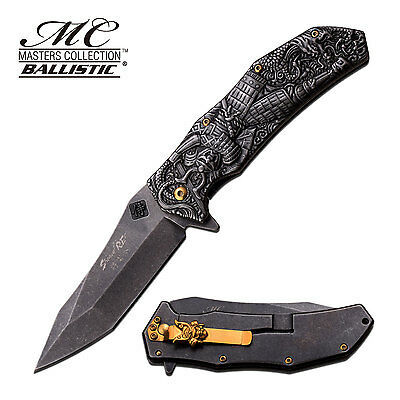 MASTERS COLLECTION Spring Assisted Open Folding Pocket Knife
