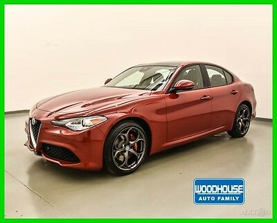 2017 Alfa Romeo Other Ti 2017 Ti New Turbo 2L I4 16V Automatic AWD Sedan Premium