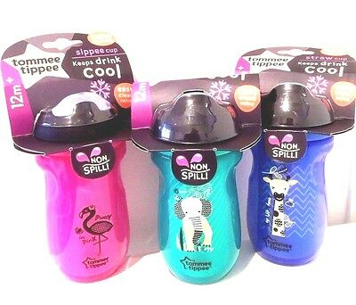 NEW Tommee Tippee Sippy Cup Insulated Bottle Active Weaning VARIOUS