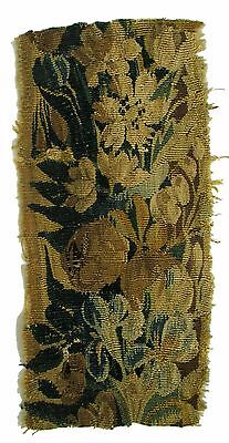 A Wool & Silk Tapestry Fragment